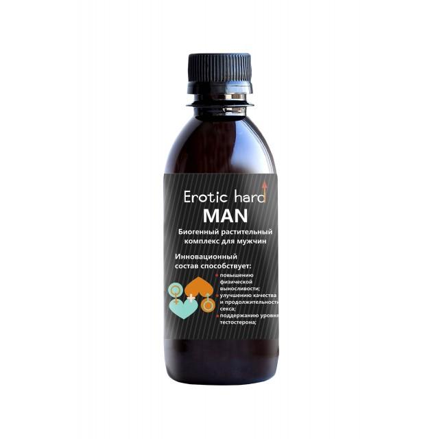 Концентрат биогенный для мужчин «Erotic hard», 250мл