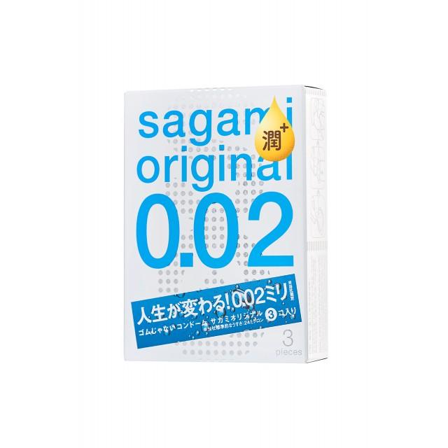 Презервативы Sagami Original 002 №3 Extra Lub