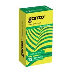 Презервативы GANZO Ultra Thin No12