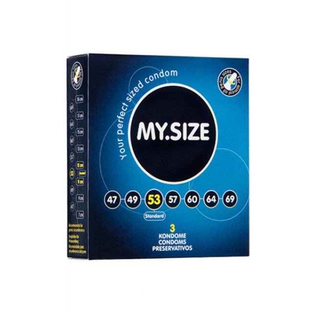 Презервативы MY.SIZE, ширина 53 мм, №3