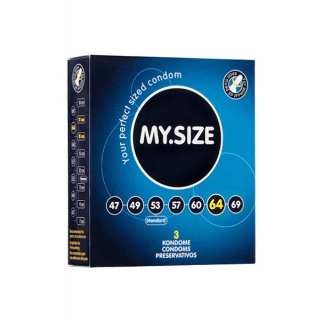Презервативы MY.SIZE, ширина 64 мм, №3