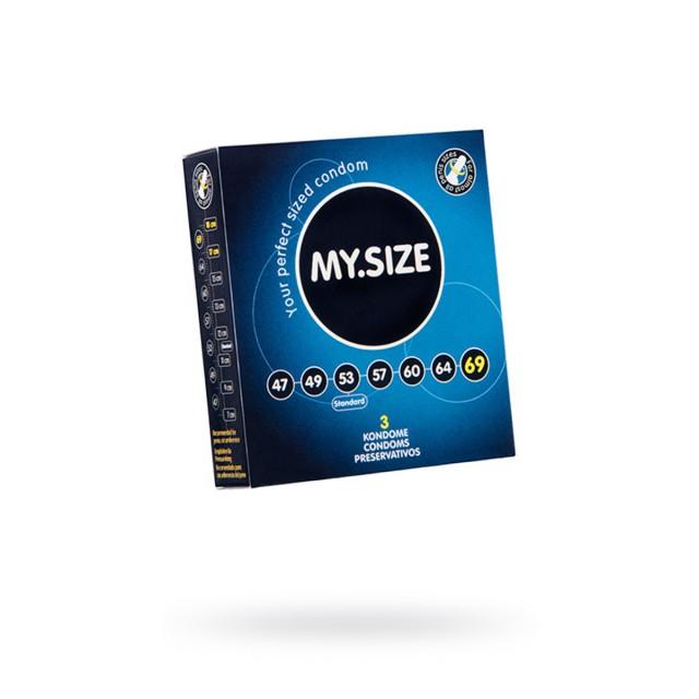 Презервативы MY.SIZE, ширина 69 мм, №3