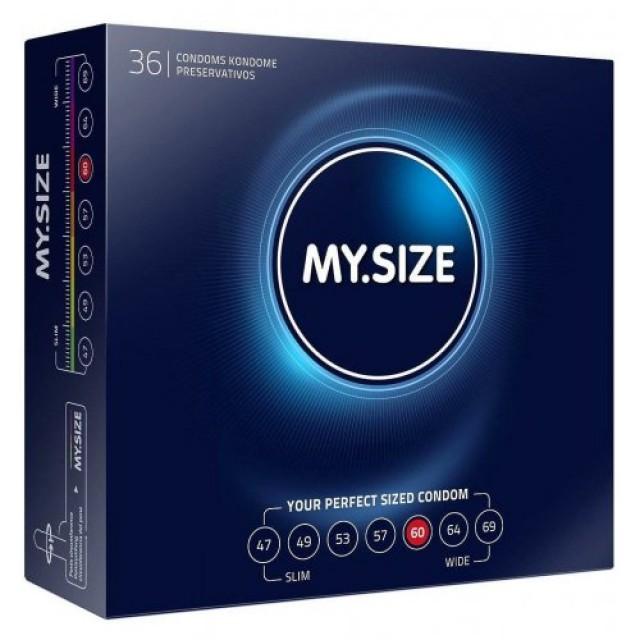 Презервативы MY.SIZE, ширина 60 мм, №36