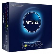 Презервативы MY.SIZE, ширина 49 мм, №36