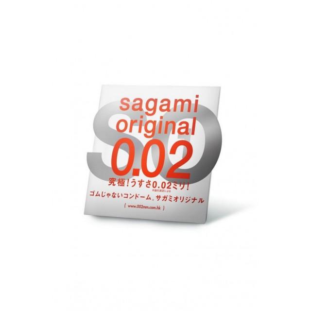 Презервативы Sagami Original 0.02 УЛЬТРАТОНКИЕ, №1