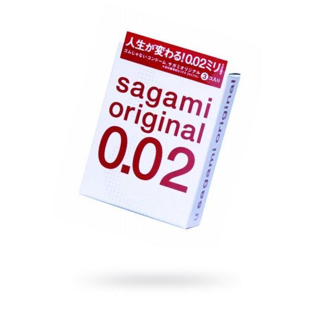 Презервативы Sagami Original 0.02 УЛЬТРАТОНКИЕ, №3