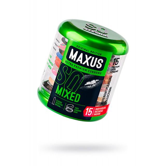 Презервативы MAXUS №15 Набор в железном кейсе
