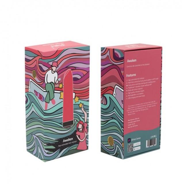 Минивибратор Magic Motion Awaken, Силиконовый, Розовый, 9,5см