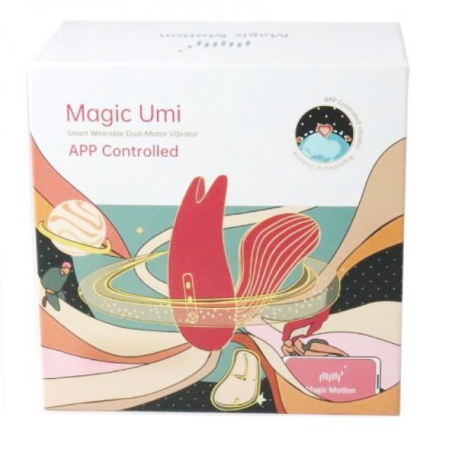 Вагинально-клиторальный стимулятор Magic Motion Umi