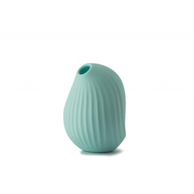 Вакуумный стимулятор клитора Cuddly Bird, Силиконовый, Голубой