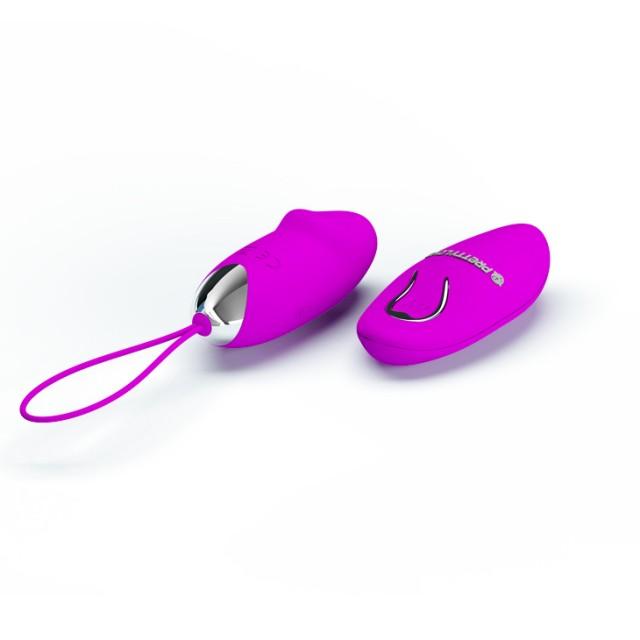 Виброяйцо Baile Julia, Силиконовое, Пурпурное