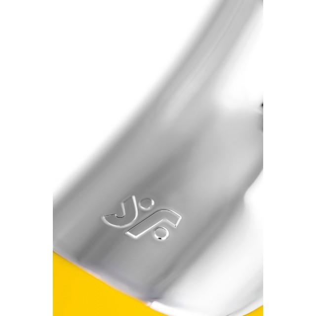 Вакуумный стимулятор + Вибратор Satisfyer Dual Love, Жёлтый, 16см
