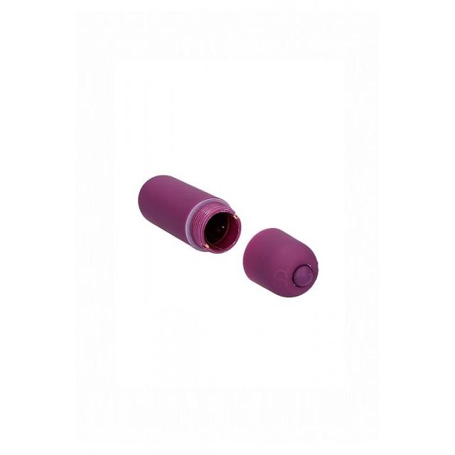 Вибропуля Shots Toys Power Bullet, ABS пластик, Фиолетовая, 6см