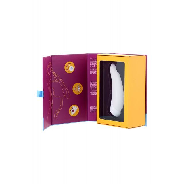 Вакуум-волновой стимулятор клитора Satisfyer Curvy 1+, Белый