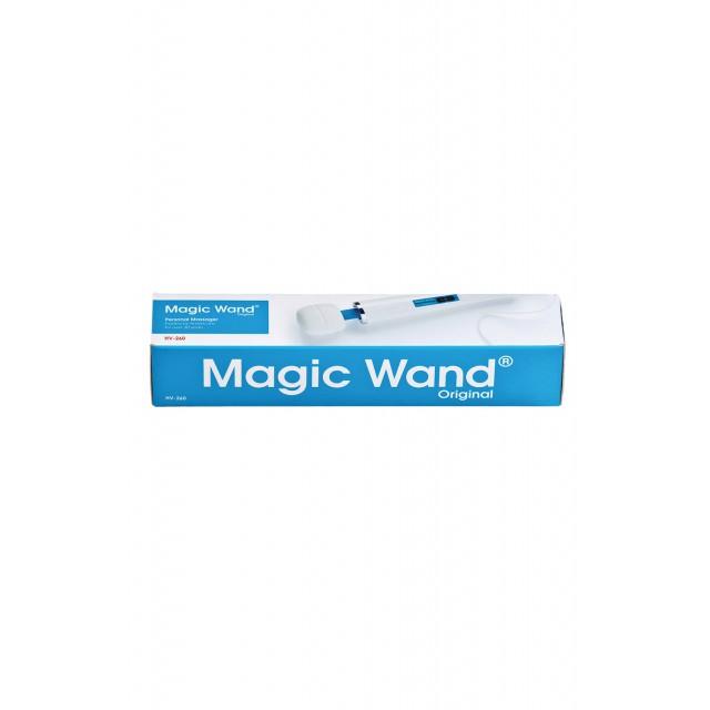 Вибромассажер Magic Wand Original HV-260, Силиконовый, Белый, 36см