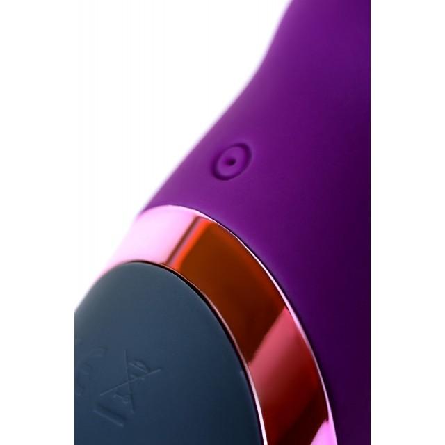 Стимулятор эрогенных зон Eromantica BUNNY, Силиконовый, Фиолетовый, 21,5см