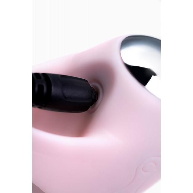 Виброяйцо и вибронасадка на палец JOS VITA, Силиконовое, Пудровые