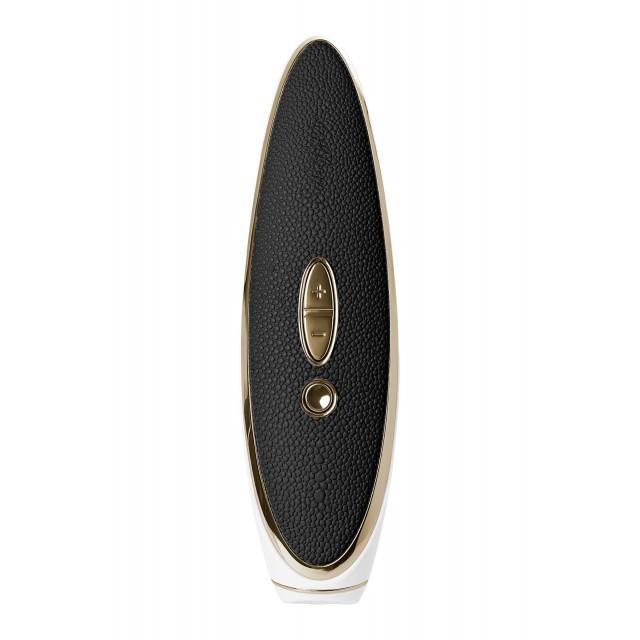 Вибратор + вакуум-волновой стимулятор Satisfyer Luxury Haute couture, Чёрный