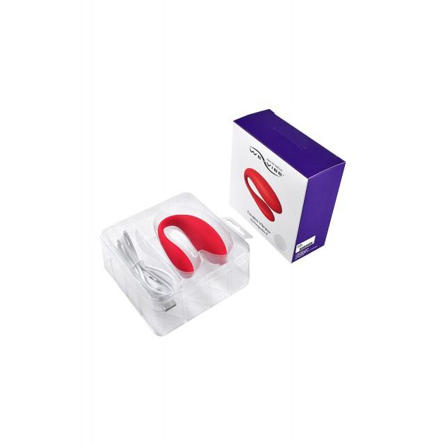 Вибратор для пар WE-VIBE Special Edition, Красный