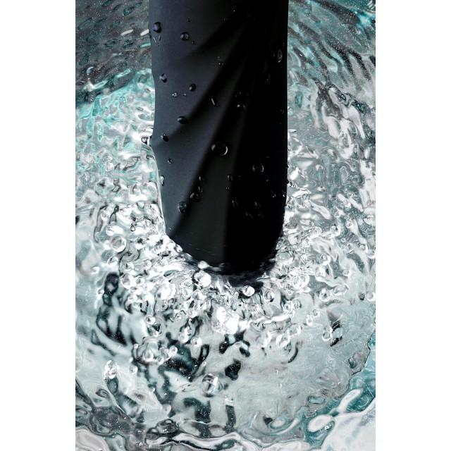 Нереалистичный вибратор WANAME D-SPLASH Gulf, Силиконовый, Чёрный, 22,5см