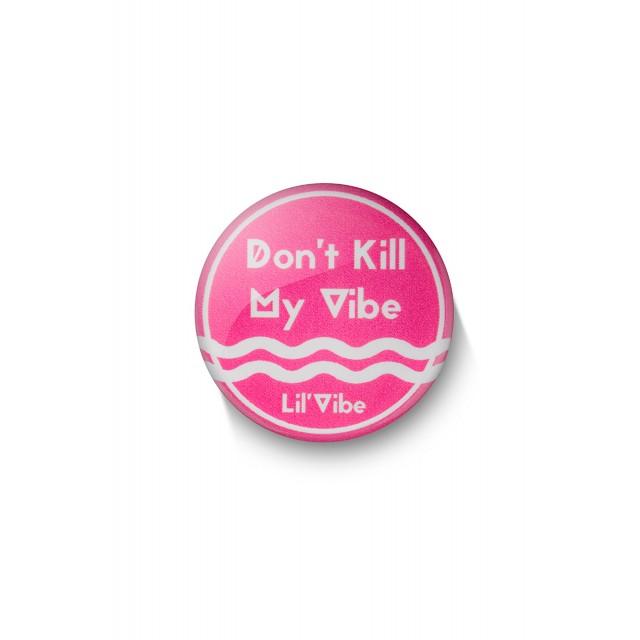 Мини-Вибратор Lil'Vibe Swirl, Силиконовый, 10см
