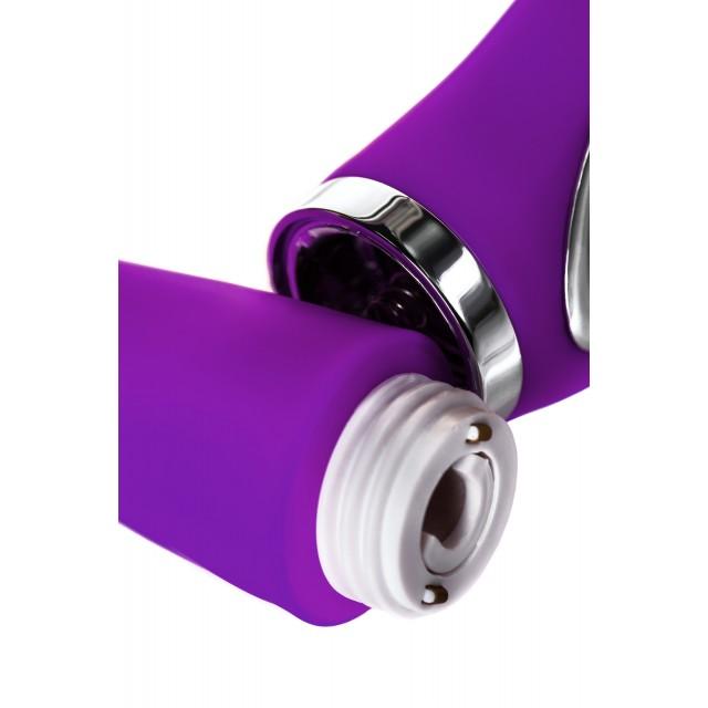 Вибратор JOS PILO с WOW-режимом LIMITED EDITION!, Силиконовый, Фиолетовый, 20см, Ø3,5см