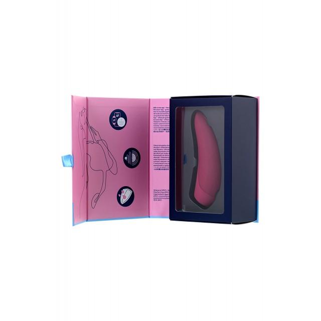 Вакуум-волновой стимулятор клитора Satisfyer Curvy 1+, Красный