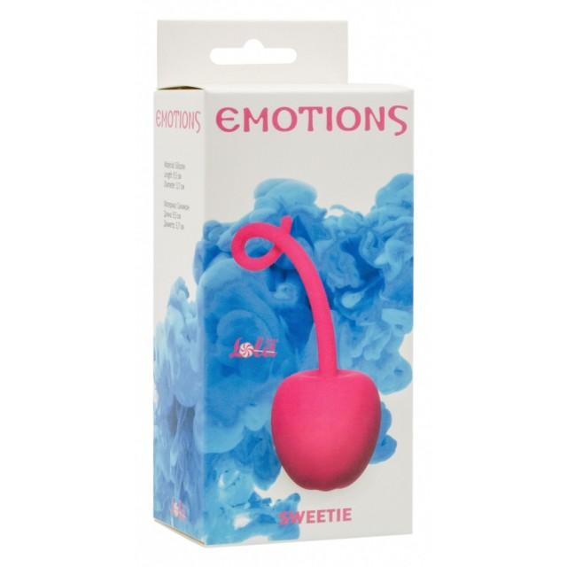 Вагинальный шарик Emotions Sweetie, Силиконовые, Розовые