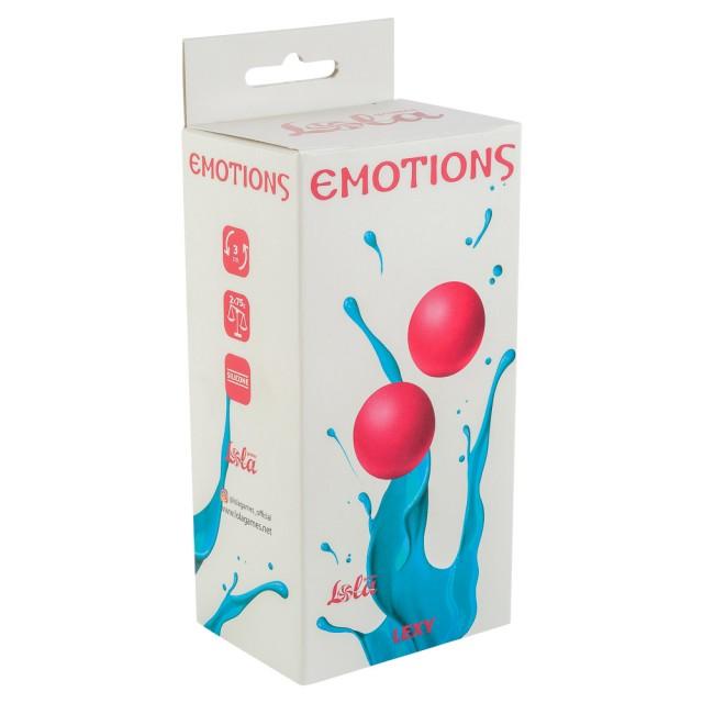 Вагинальные шарики без сцепки Emotions Lexy Large, Силиконовые, Розовые
