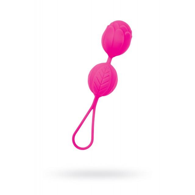 Вагинальные шарики TOYFA A-Toys, Силиконовые, Розовые, Ø3,5см