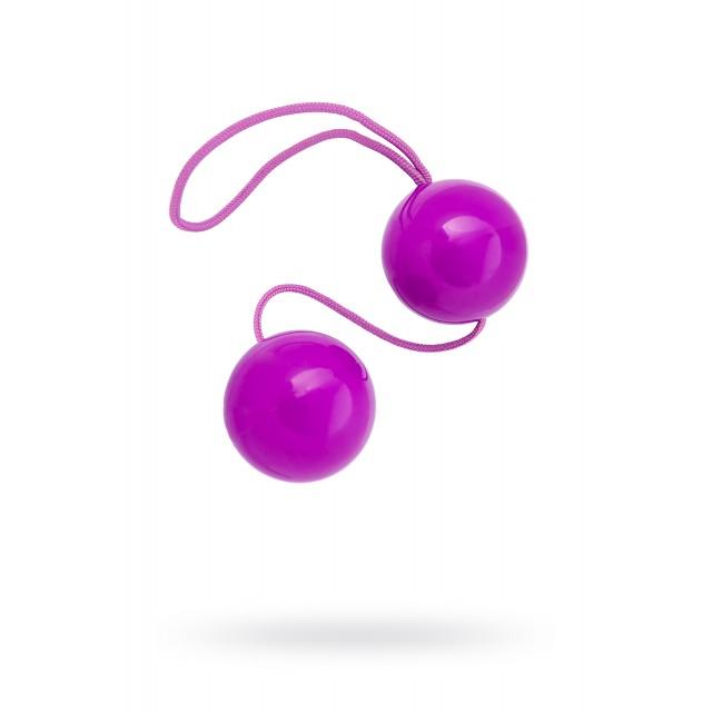 Вагинальные шарики TOYFA, ABS пластик, Фиолетовые, 20,5см