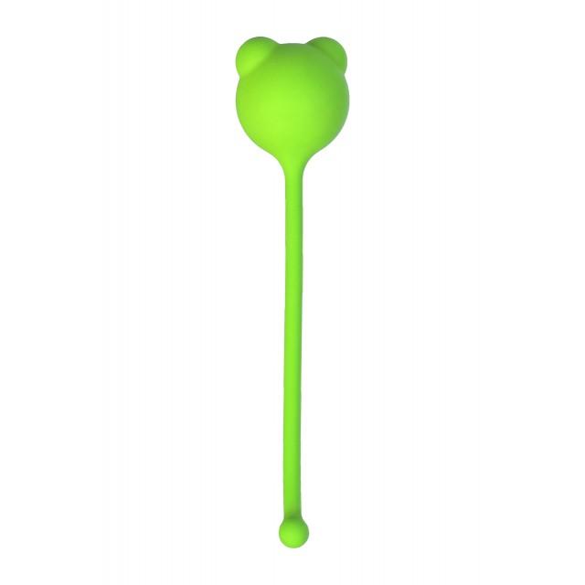 Вагинальный шарик A-Toys by TOYFA, Силиконовые, Зеленый, Ø2,7см