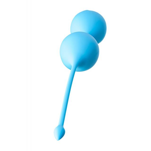 Вагинальные шарики TOYFA A-Toys, Силиконовые, Голубые, Ø3,5см