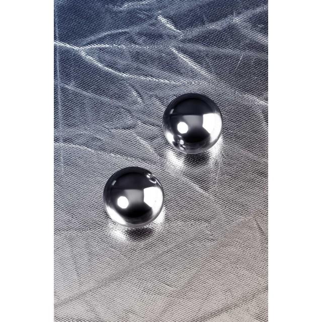 Вагинальные шарики Metal by TOYFA, Серебристые Ø3см