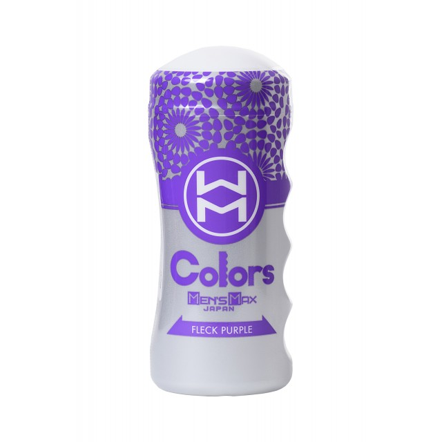 Мастурбатор MensMax Colors Flick Purple, TPE