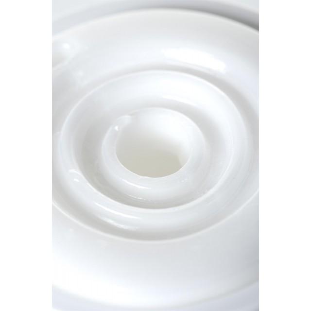 Мастурбатор нереалистичный Smart, MensMax, TPE, Белый, 14,5см