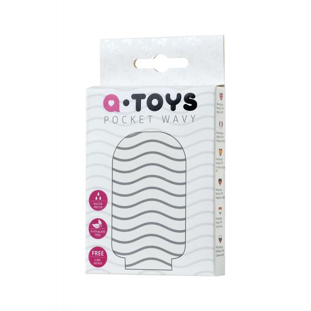 Мастурбатор TOYFA A-Toys Pocket Wavy, TPR
