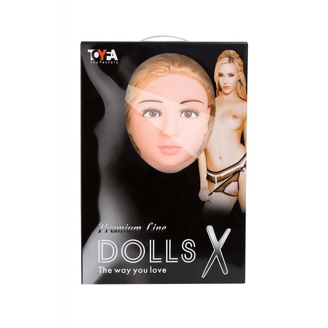 Кукла надувная Arianna с двумя отверстиями из киберкожи