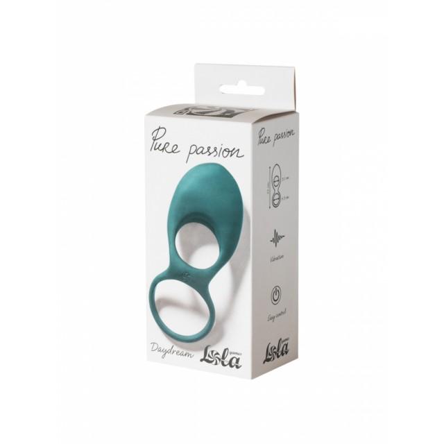 Виброкольцо эрекционное Lola Toys Pure Passion Daydream Green, Силиконовое, Зеленое
