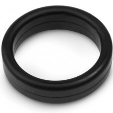 Эрекционное кольцо Brazzers, Силиконовое, Черное, 3,5см