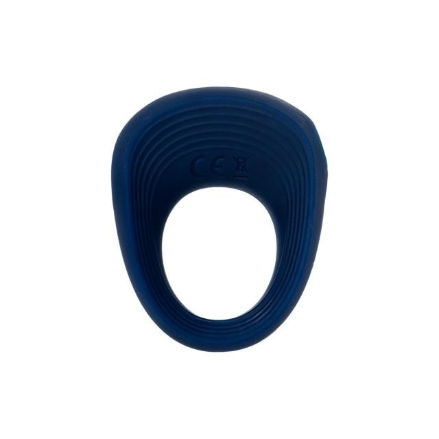 Виброкольцо Satisfyer Rings 2, Силиконовое, Синее