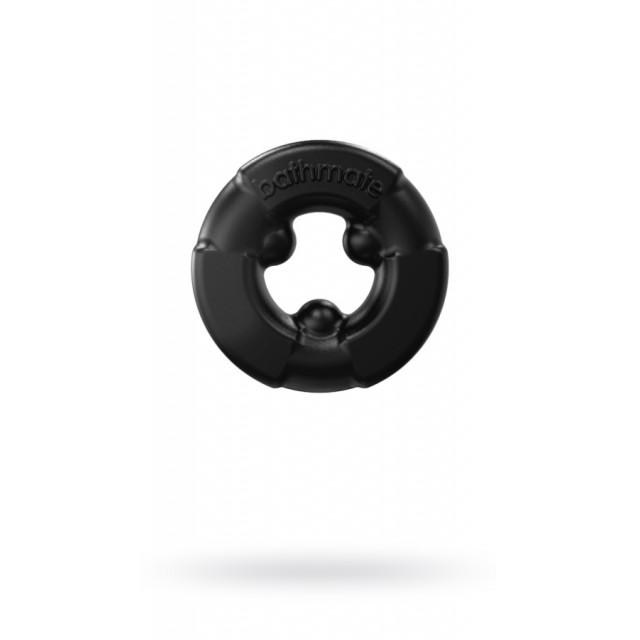 Эрекционное кольцо на пенис Bathmate Gladiator, Elastomex, Чёрное, Ø4,5см