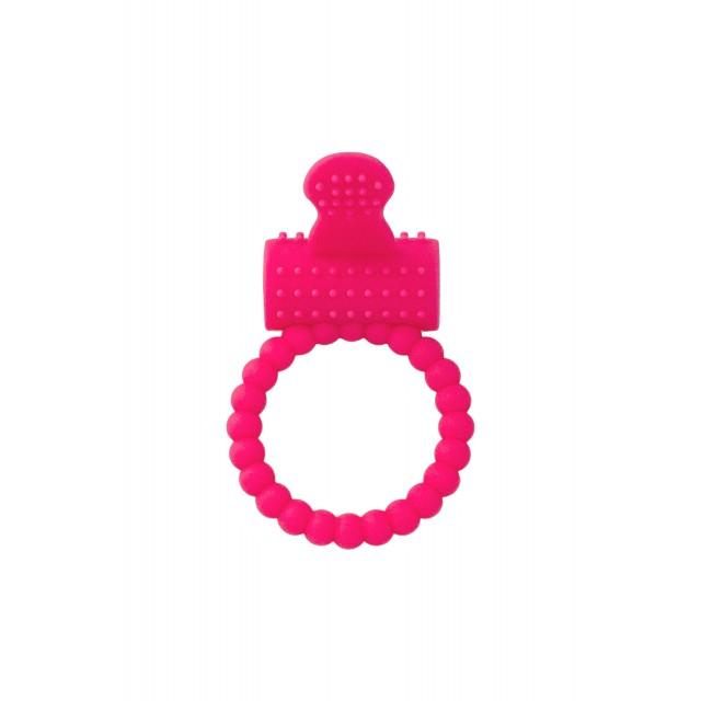 Эрекционное кольцо на пенис TOYFA A-Toys, Силиконовое, Розовое, Ø3,5см