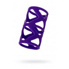 Насадка на пенис TOYFA A-Toys, Силиконовая, Фиолетовая, 7,5см