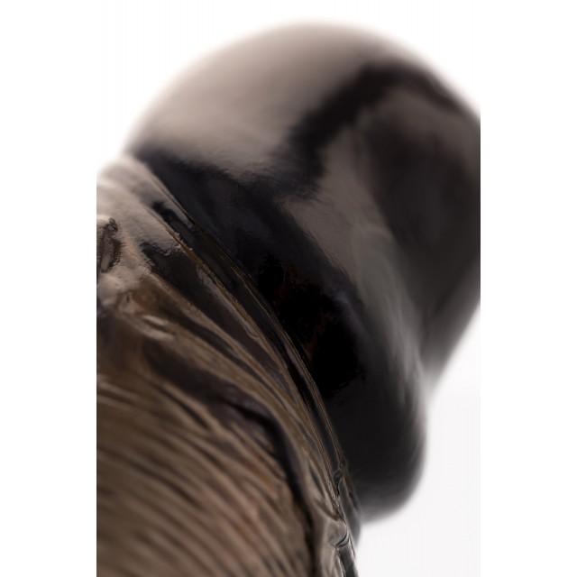 Насадка Toyfa XLover с кольцом и вибрацией, TPE, 14,5см