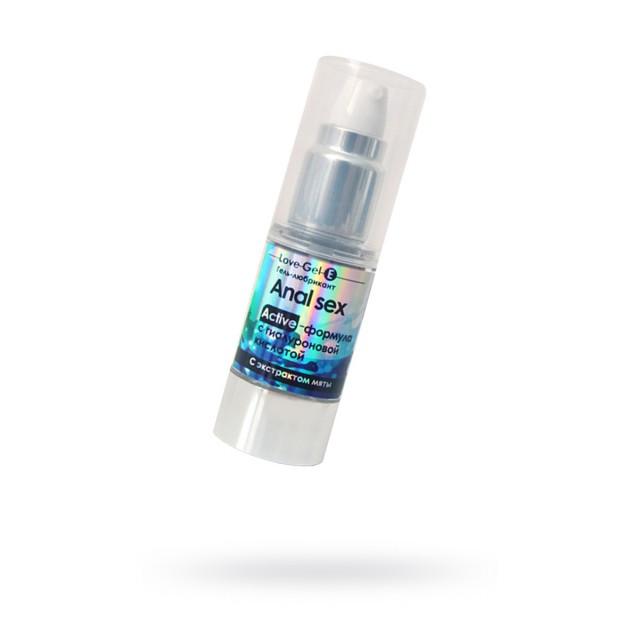 Гель-лубрикант ANAL SEX, с гиалуроновой кислотой с экстрактом мяты, 20г