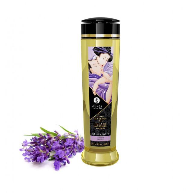 Масло для массажа Shunga Lavenders, 240мл