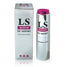 Спрей возбуждающий для женщин LoveSpray Active, 18г
