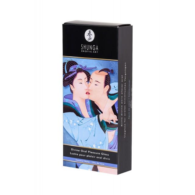 Блеск для губ Shunga «Божественное удовольствие», Кокосовое молочко