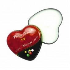 Массажная свеча Plaisirs Secrets «BUBBLE GUM», с ароматом жевательной резинки, 35мл